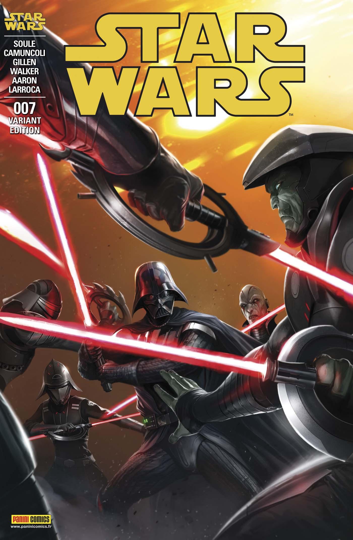 Star Wars 7 - Couverture Régulière 2/2