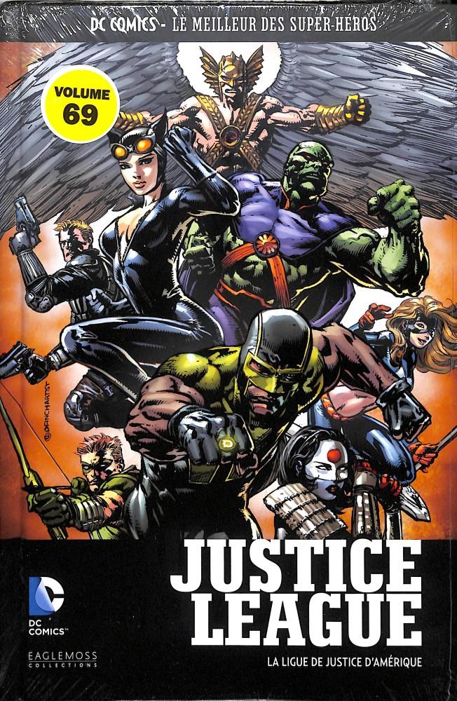 DC Comics - Le Meilleur des Super-Héros 69 - Justice League : La Ligue de Justice d'Amérique