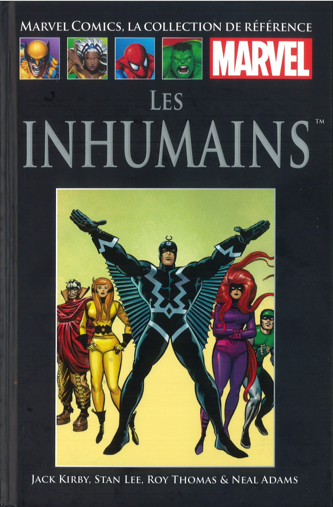 Marvel Comics, la Collection de Référence 9 - Les Inhumains
