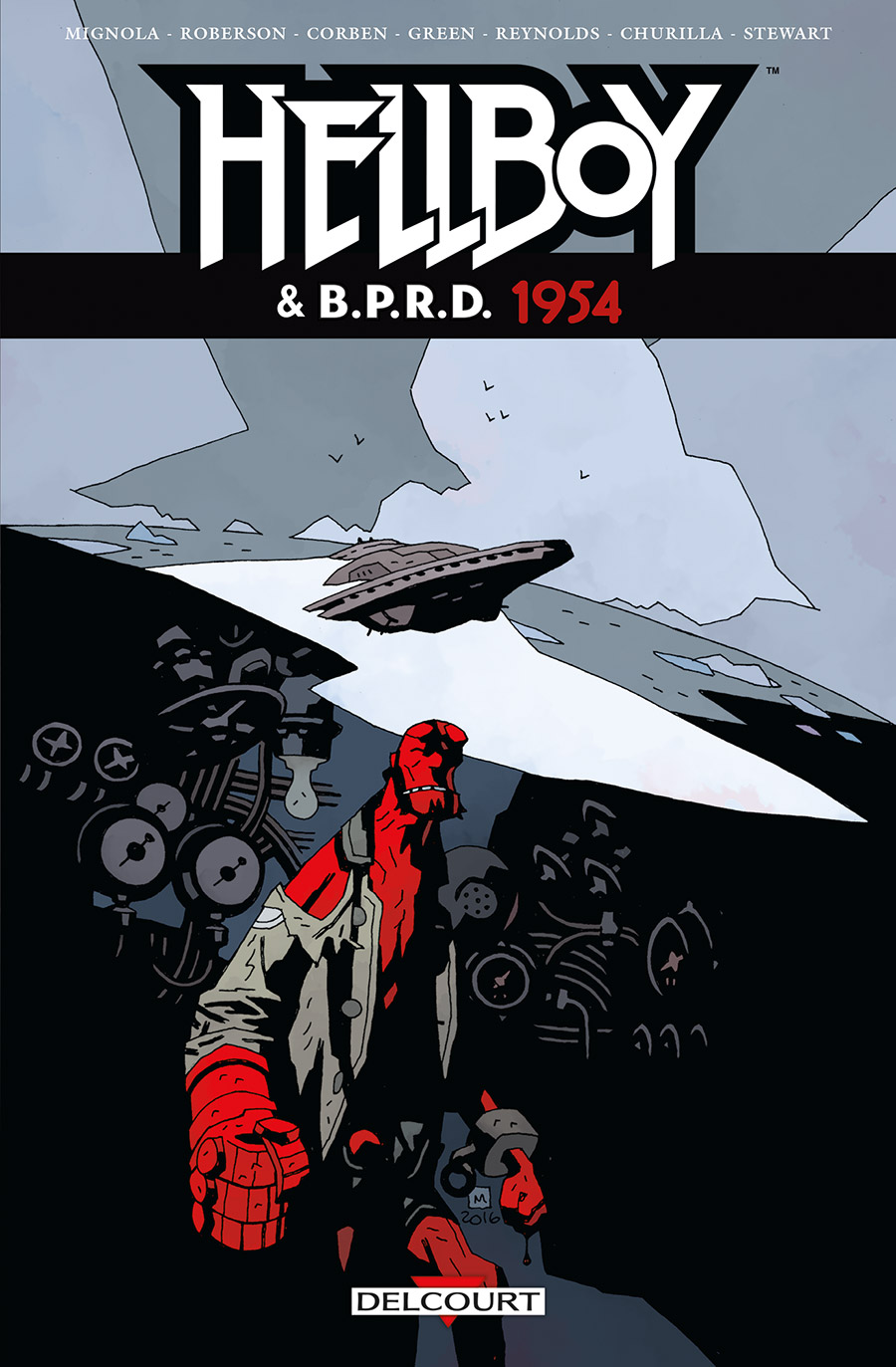 Hellboy and the B.P.R.D. 3 - 1954