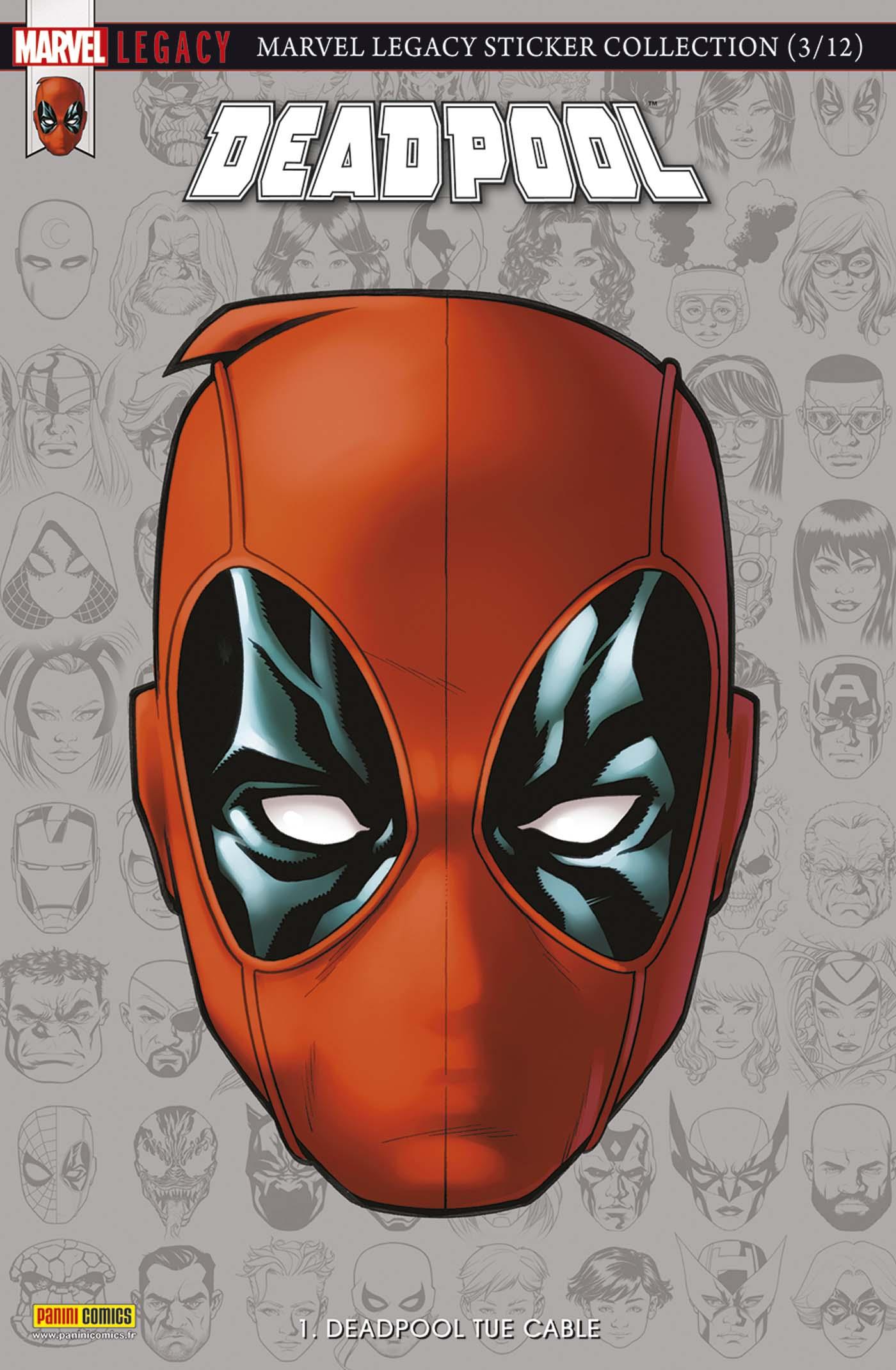 Marvel Legacy - Deadpool 1 - Deadpool Tue Cable