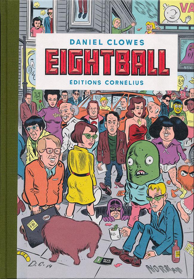 Eightball 1 - Réédition 2018 avec nouvelle couverture