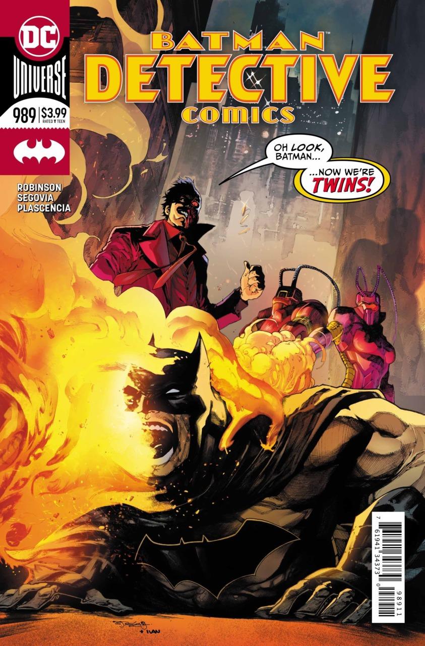 Batman - Detective Comics 989