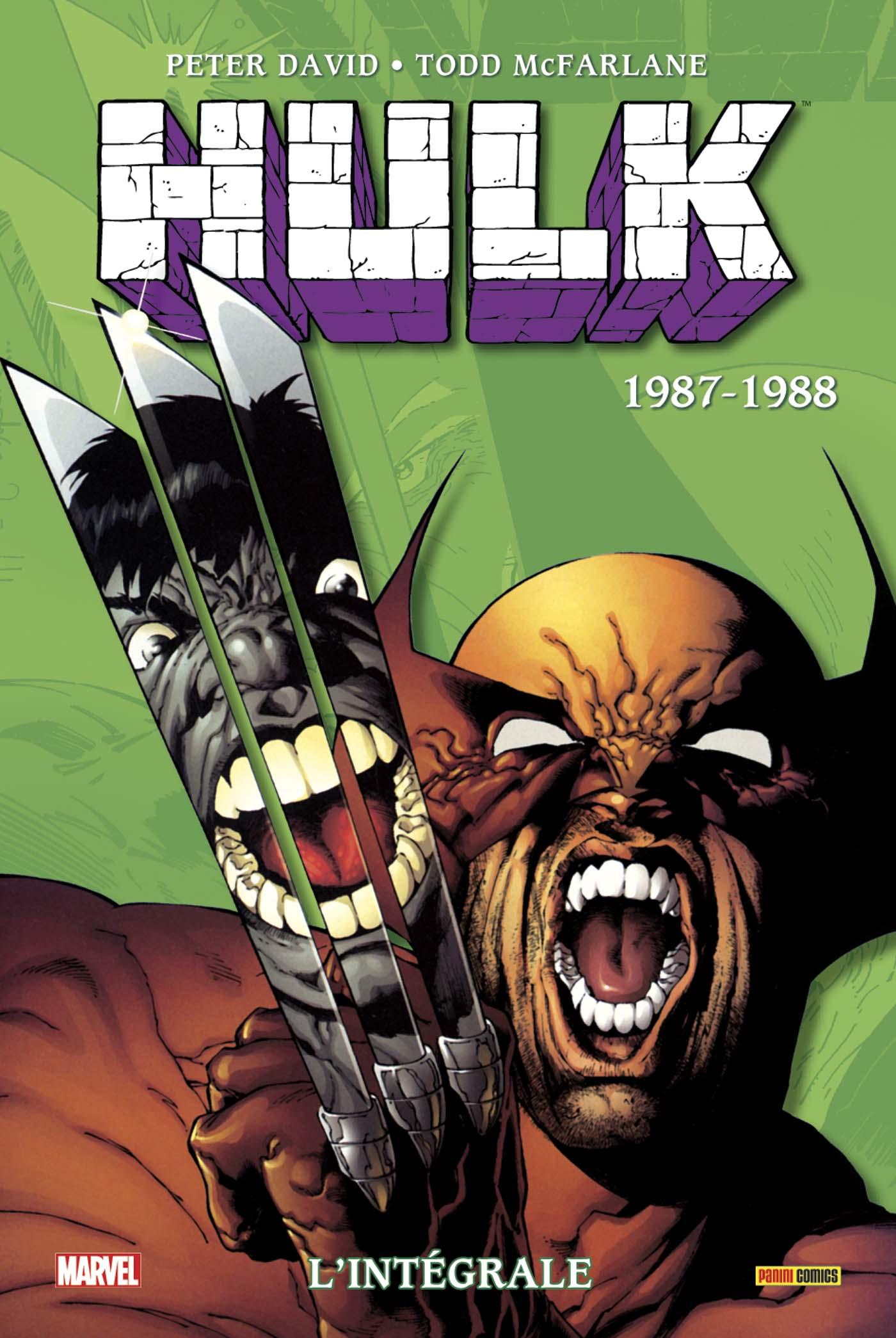 Hulk 1987 - 1987-1988 (Réédition 2018)