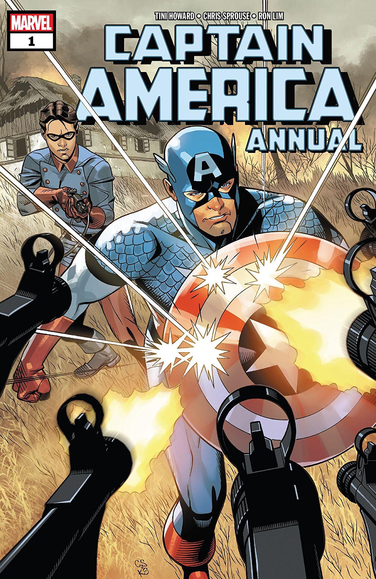 Captain America 1 - Annual 2018