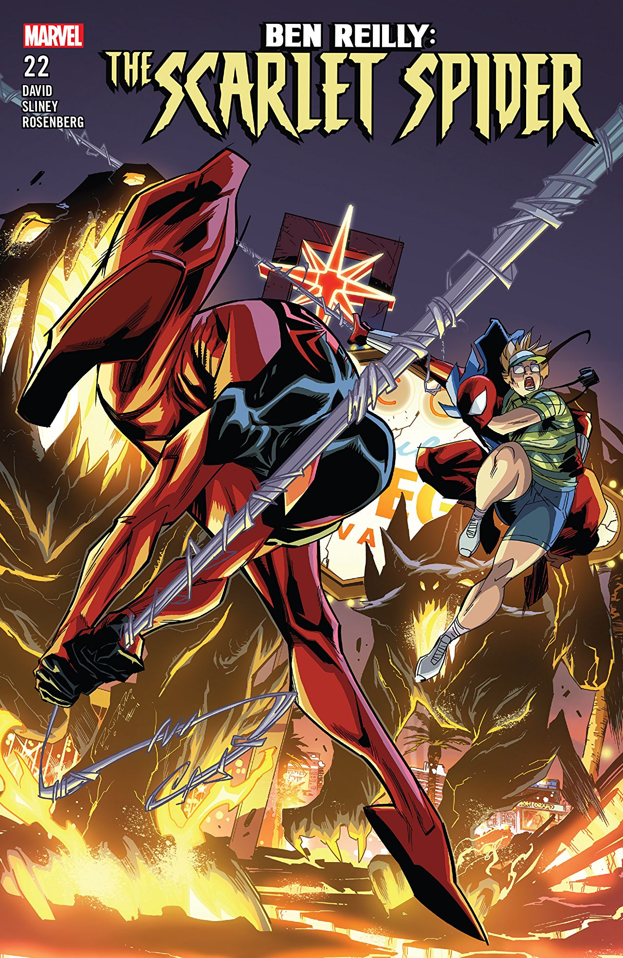 Ben Reilly - Scarlet Spider 22