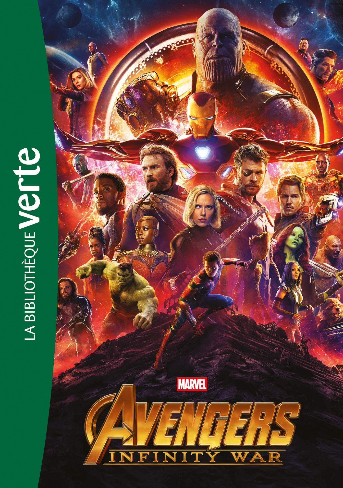Bibliothèque Marvel 20 - Avengers Infinity War