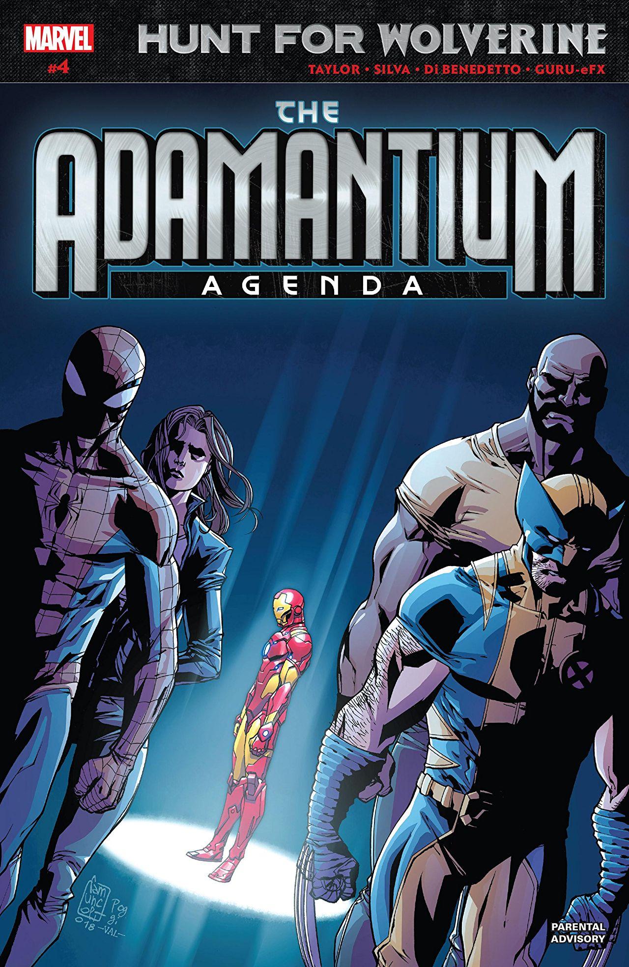 Hunt for Wolverine - Adamantium Agenda 4