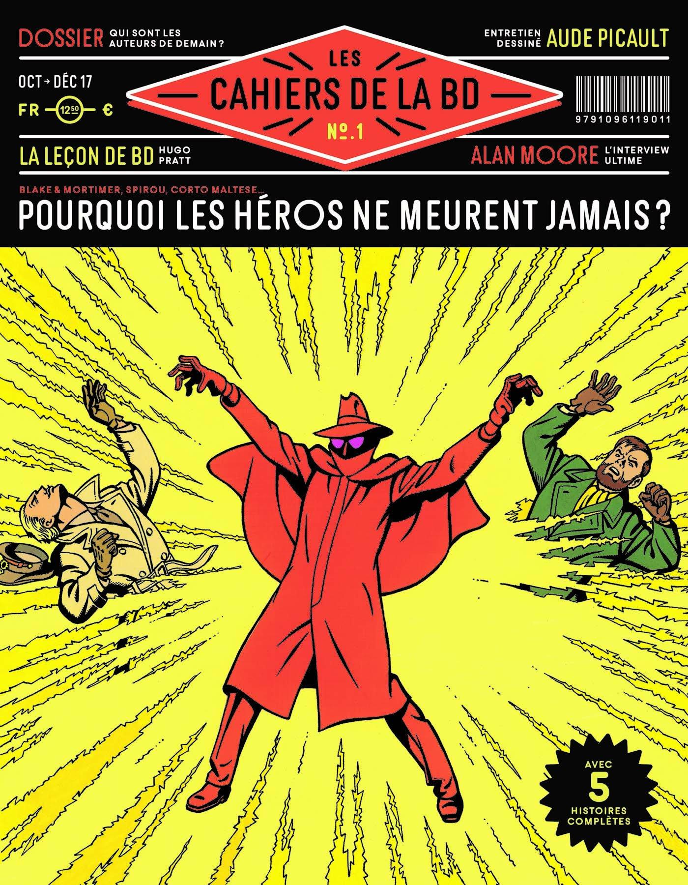 Les cahiers de la BD (Vagator) 1 - Pourquoi les héros ne meurent-ils jamais ?