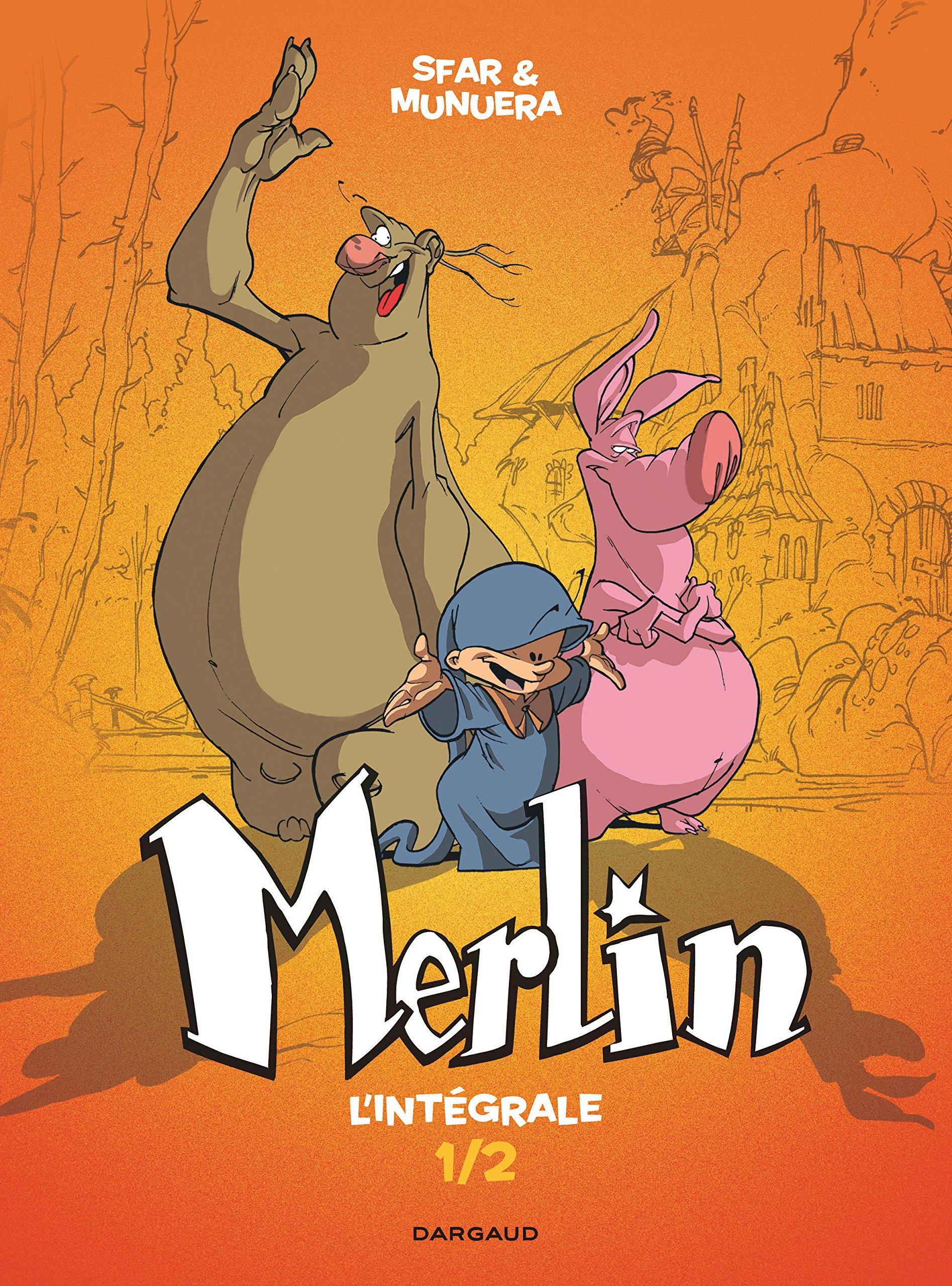 Merlin (Munuera) 1 - L'intégrale T1/2