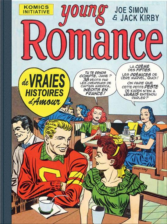 Young Romance 1 - Une anthologie des Romance Comics de Joe Simon & Jack Kirby