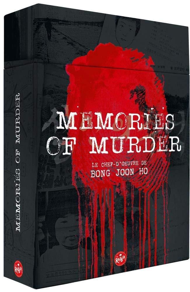 Memories of Murder  - Memories of Murder [Édition Ultime limitée - Blu-ray + DVD + Livret + Storyboard]