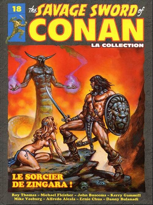 The Savage Sword of Conan 18 -  Le sorcier de zingara !