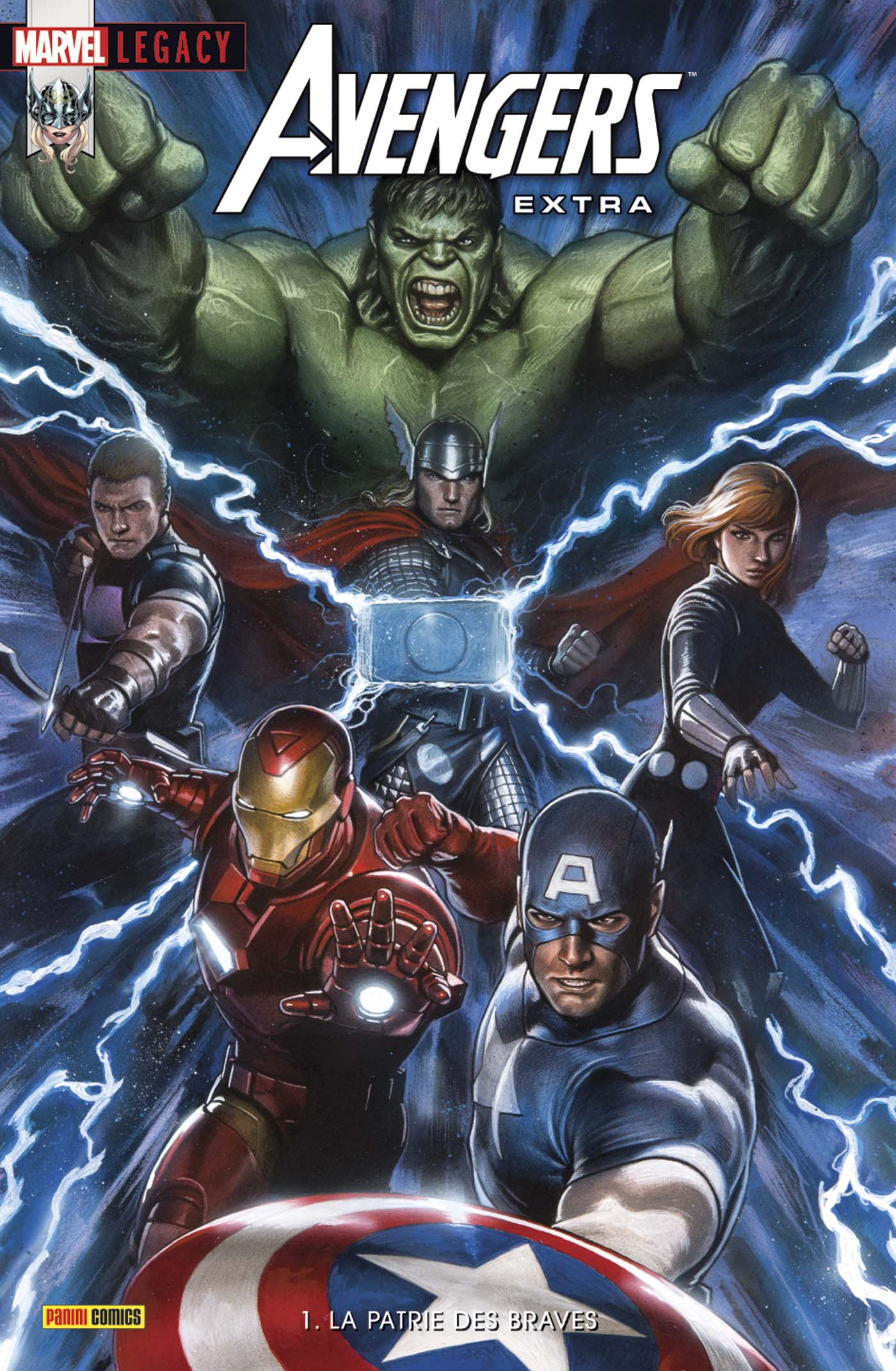 Marvel Legacy - Avengers Extra 1 - La Patrie des Braves