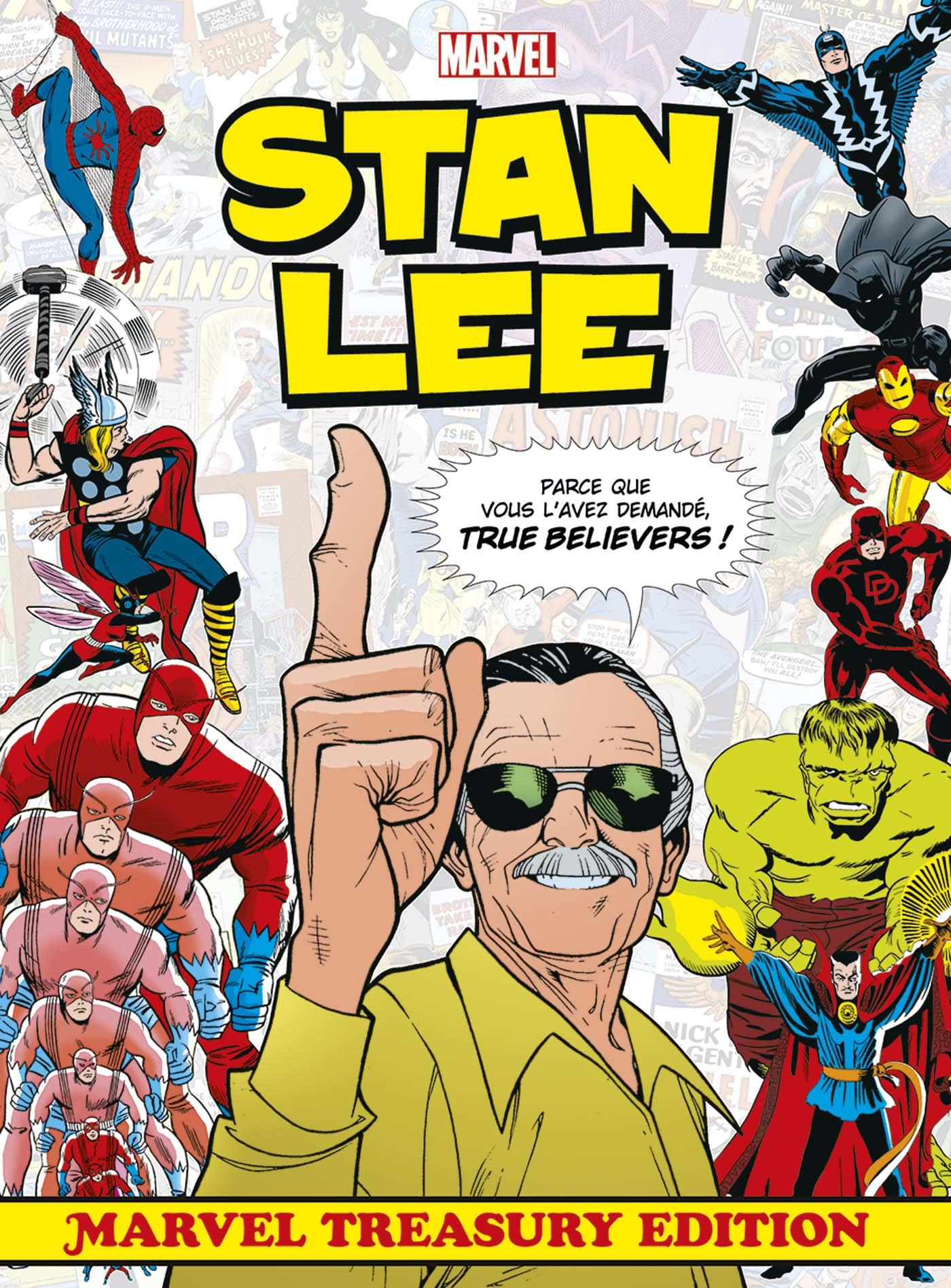 Stan Lee - Marvel Treasury Edition 1 - Marvel Treasury Edition