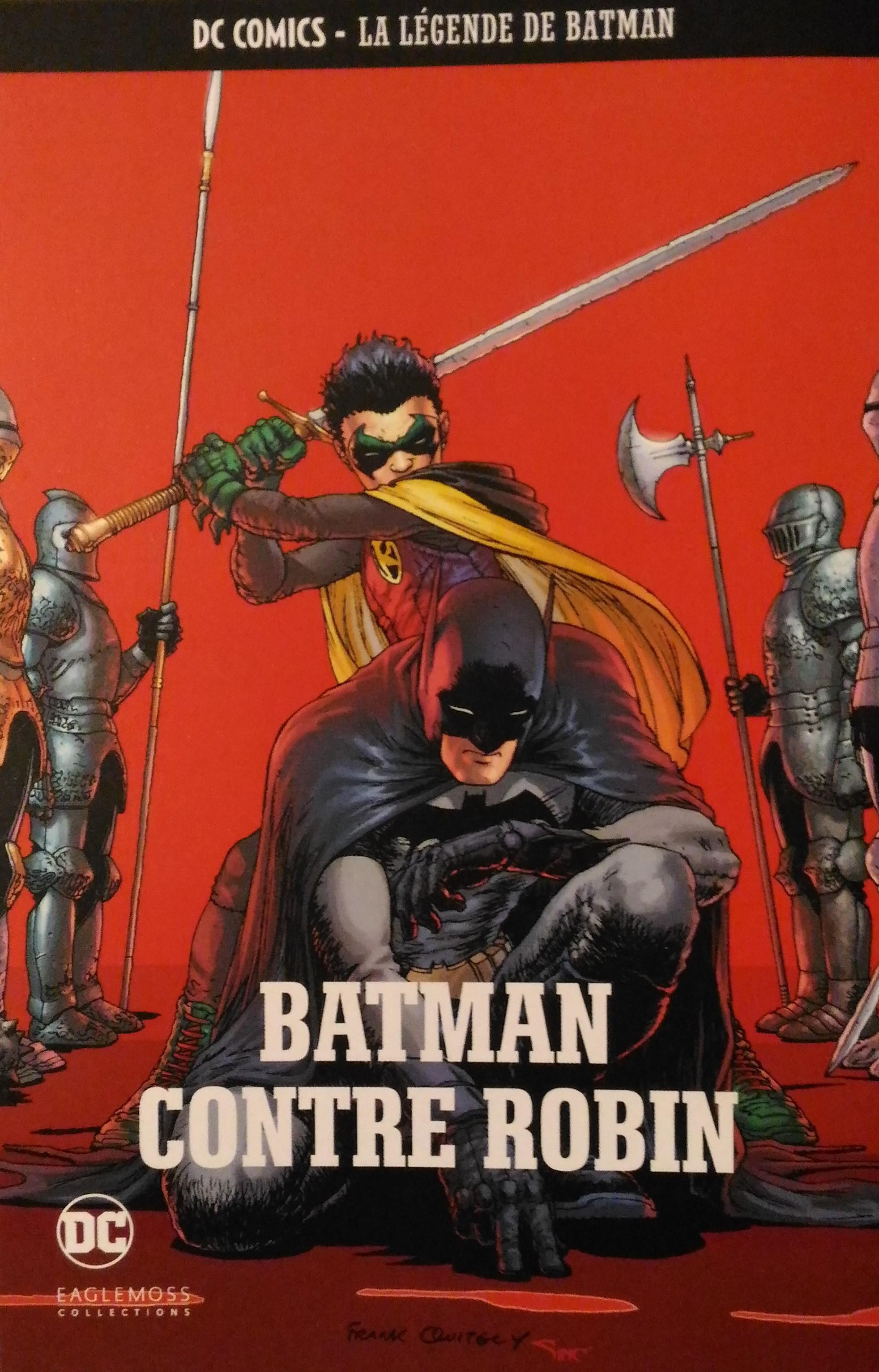 DC Comics - La Légende de Batman 49 - Batman contre Robin