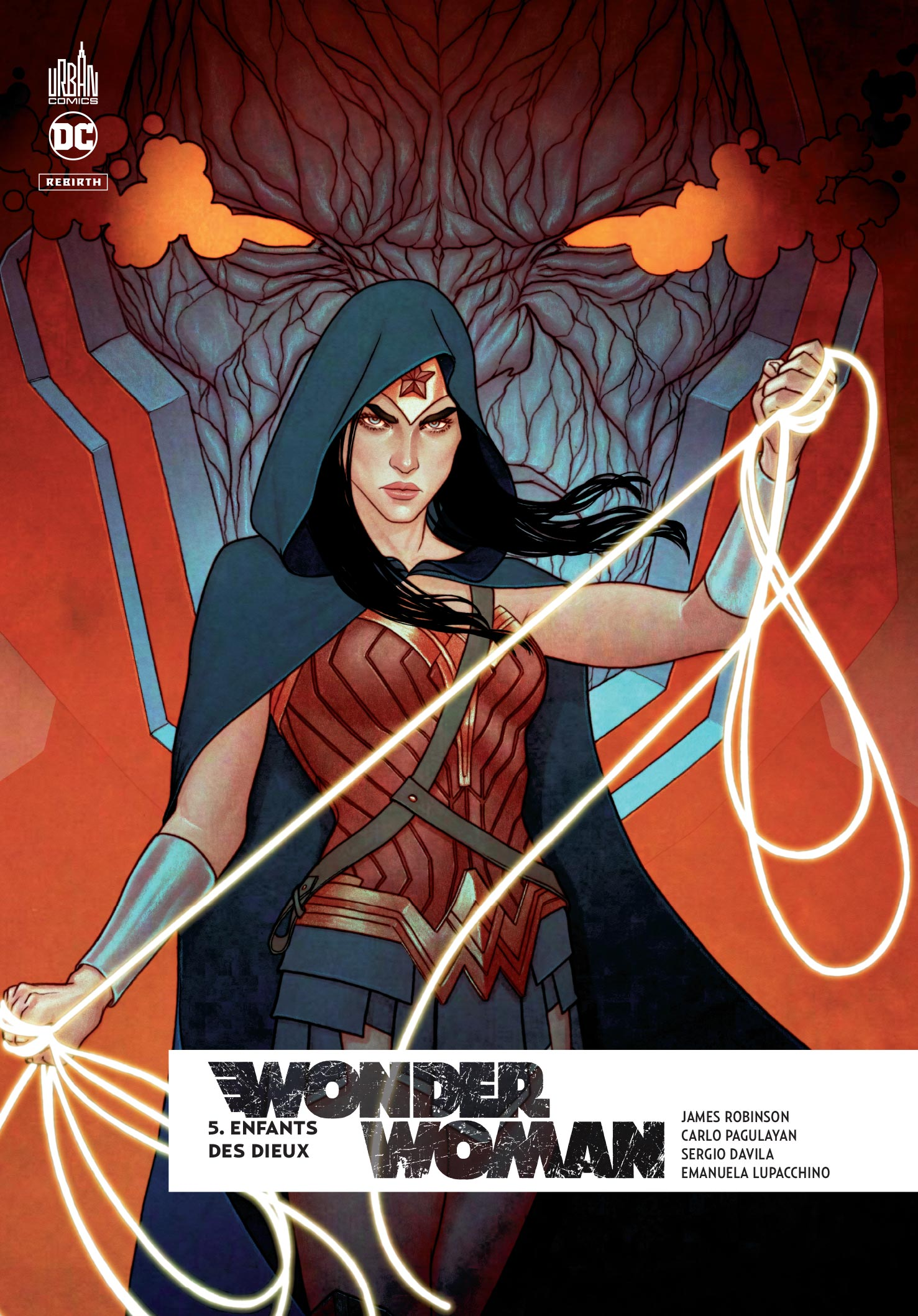 Wonder Woman Rebirth 5 - Enfants des Dieux