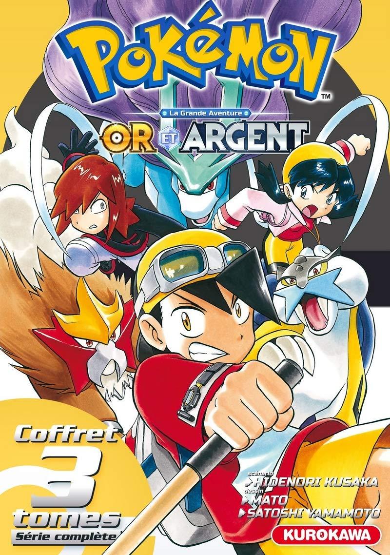 Pokémon 1 - Pokémon - Or et Argent