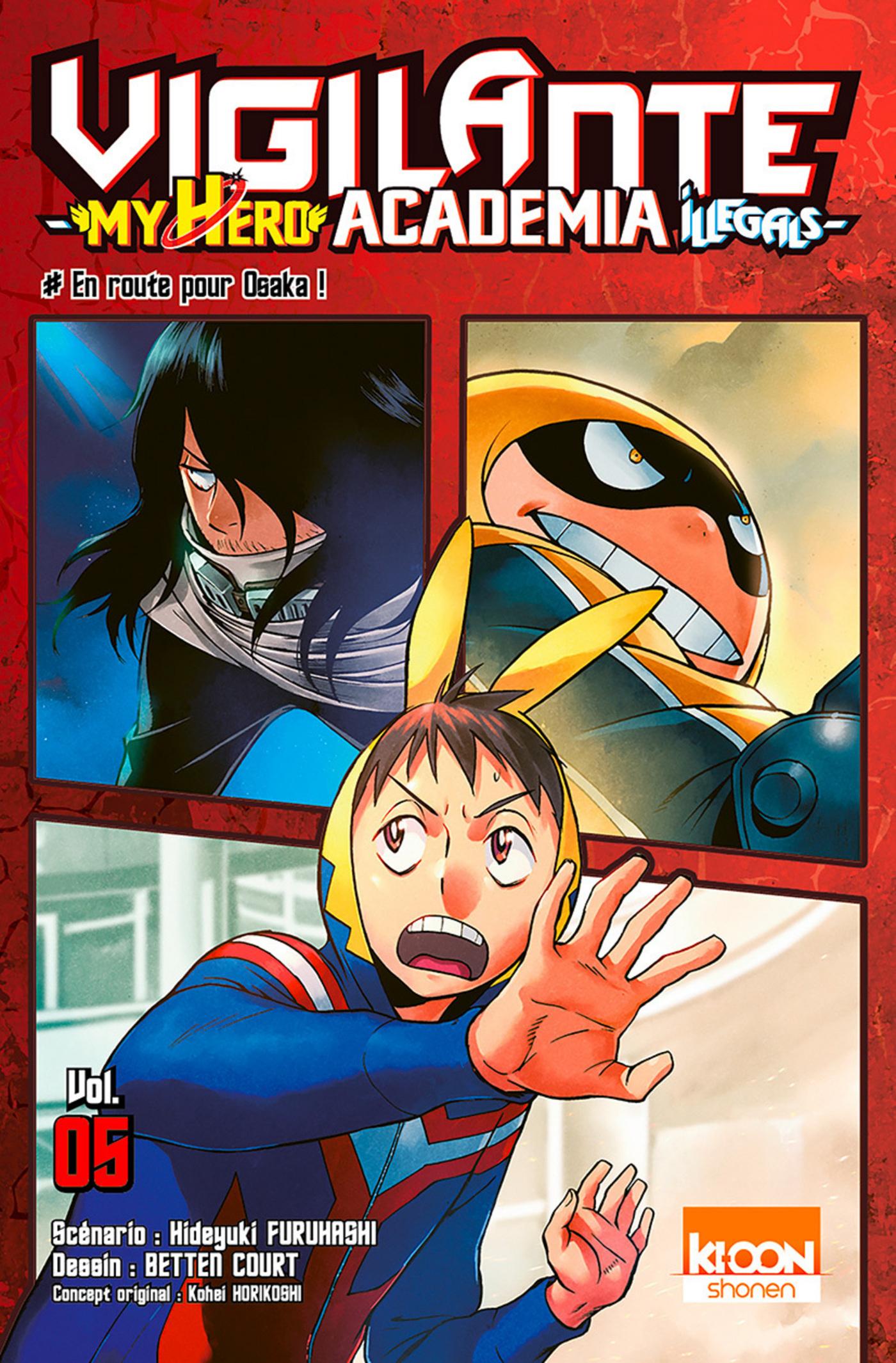 Vigilante - My Hero Academia illegals 5