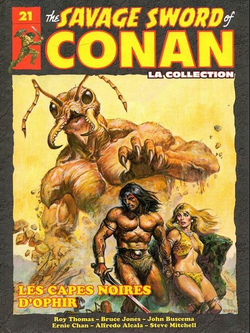 The Savage Sword of Conan 21 - Les capes noires d'ophir
