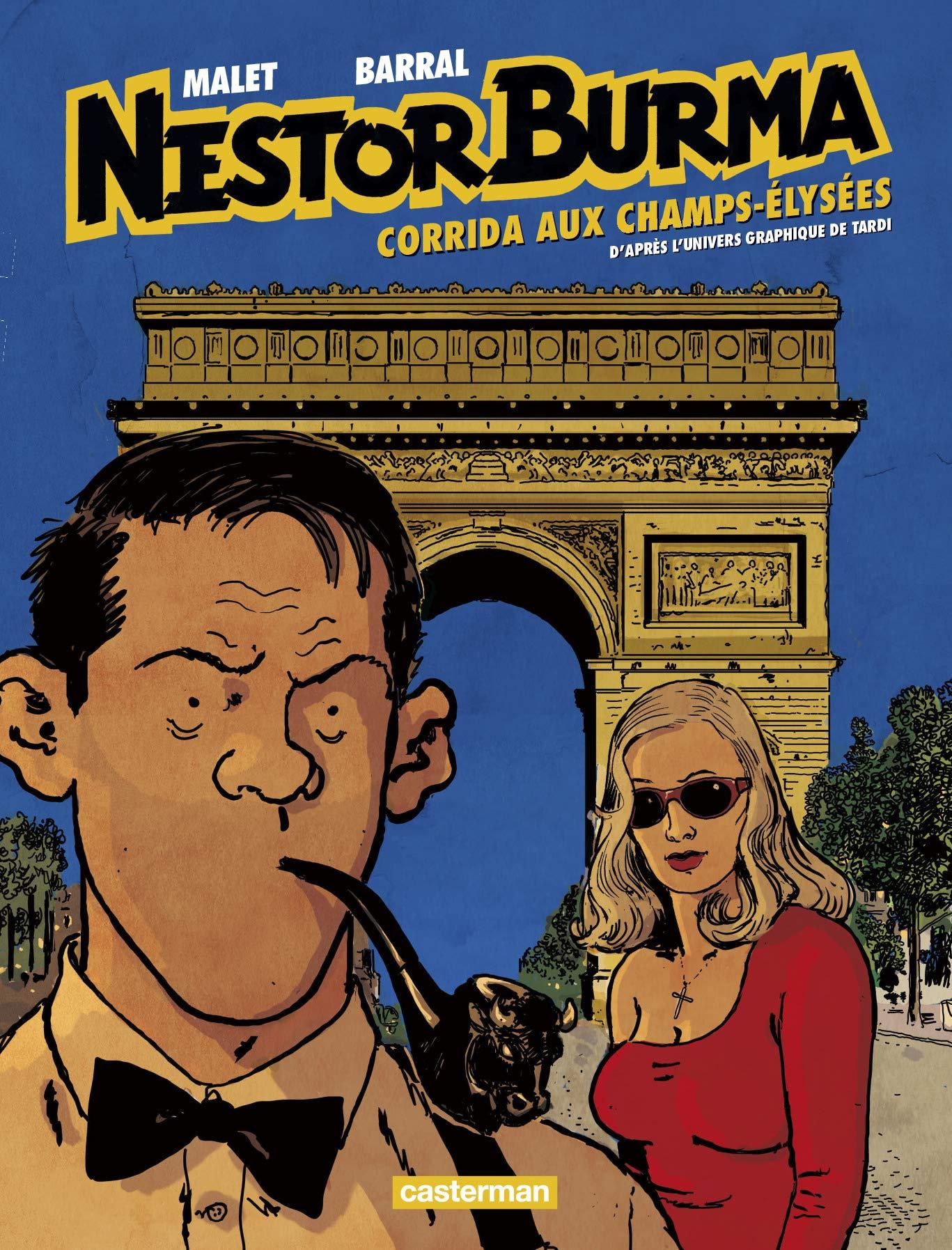 Nestor Burma 12 - Corrida aux Champs-Élysées