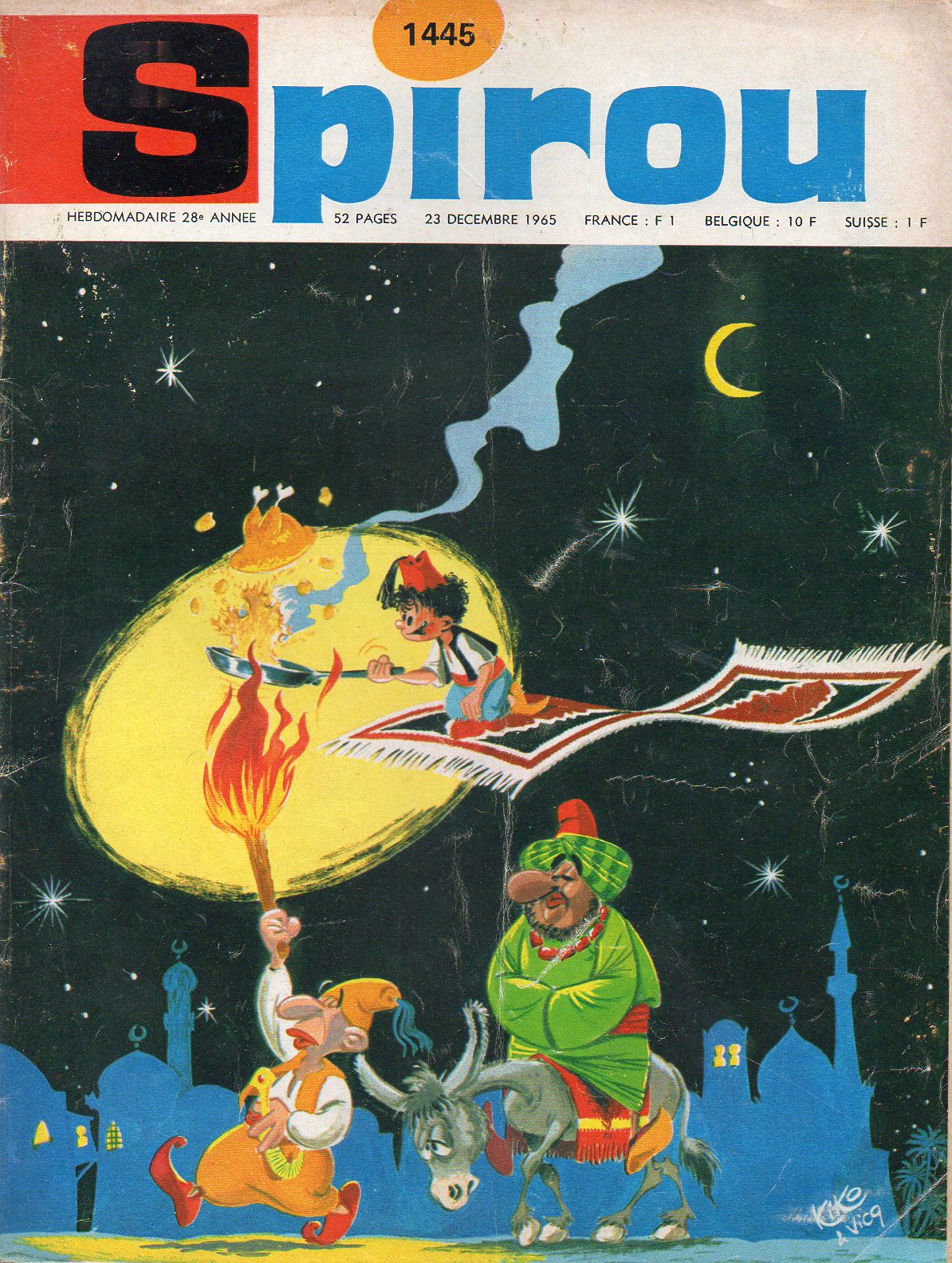 Le journal de Spirou 1445