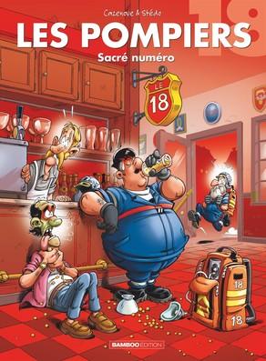 Les pompiers 18 - Sacré numéro