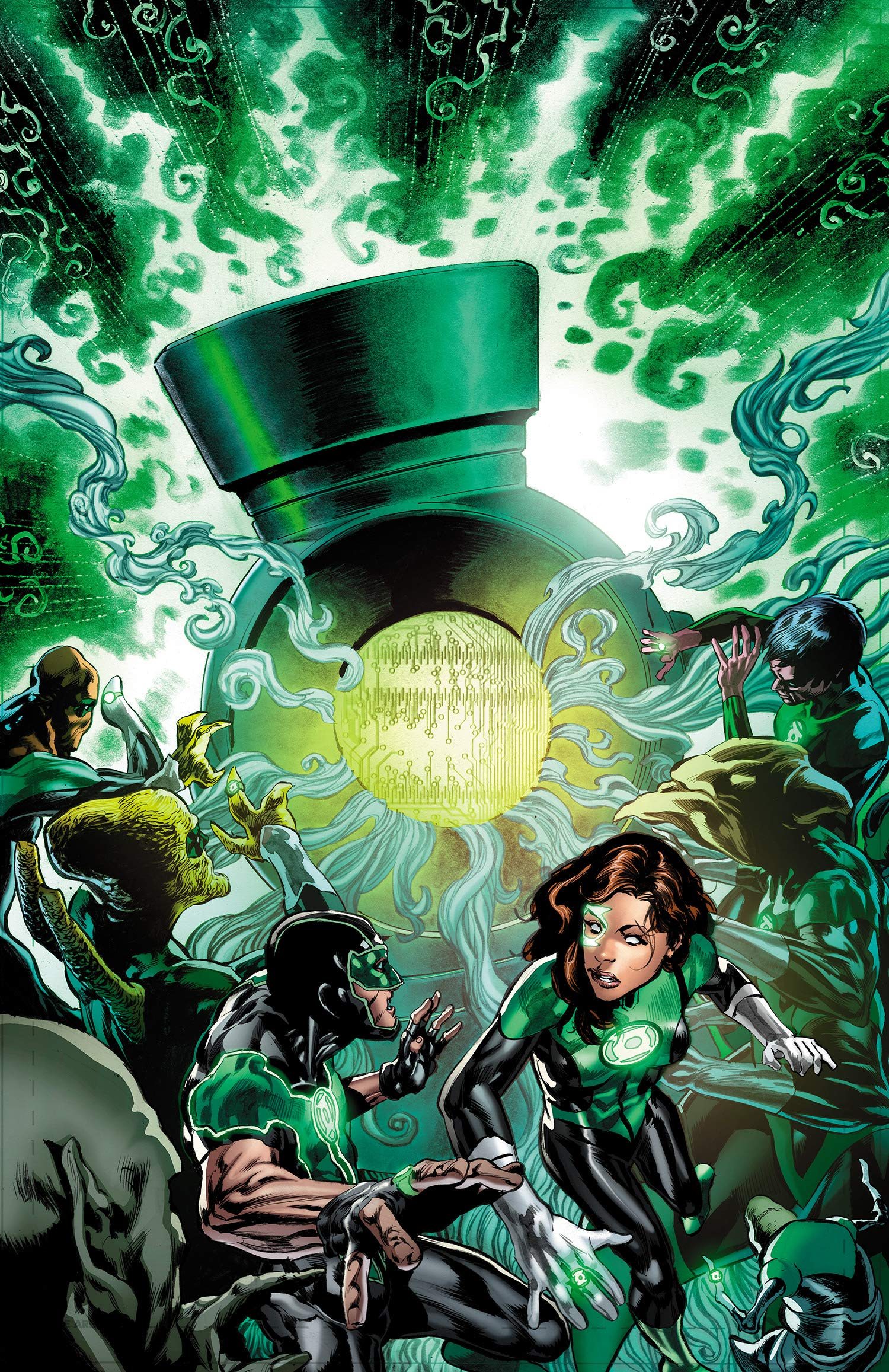 Green Lanterns 8 - Ghosts of the Past