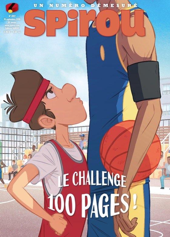 Album Spirou (recueil) 4197 - Le challenge 100 pages !