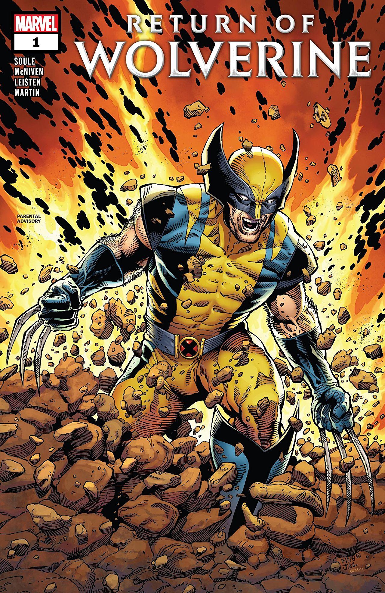 Wolverine - Le retour de Wolverine 1