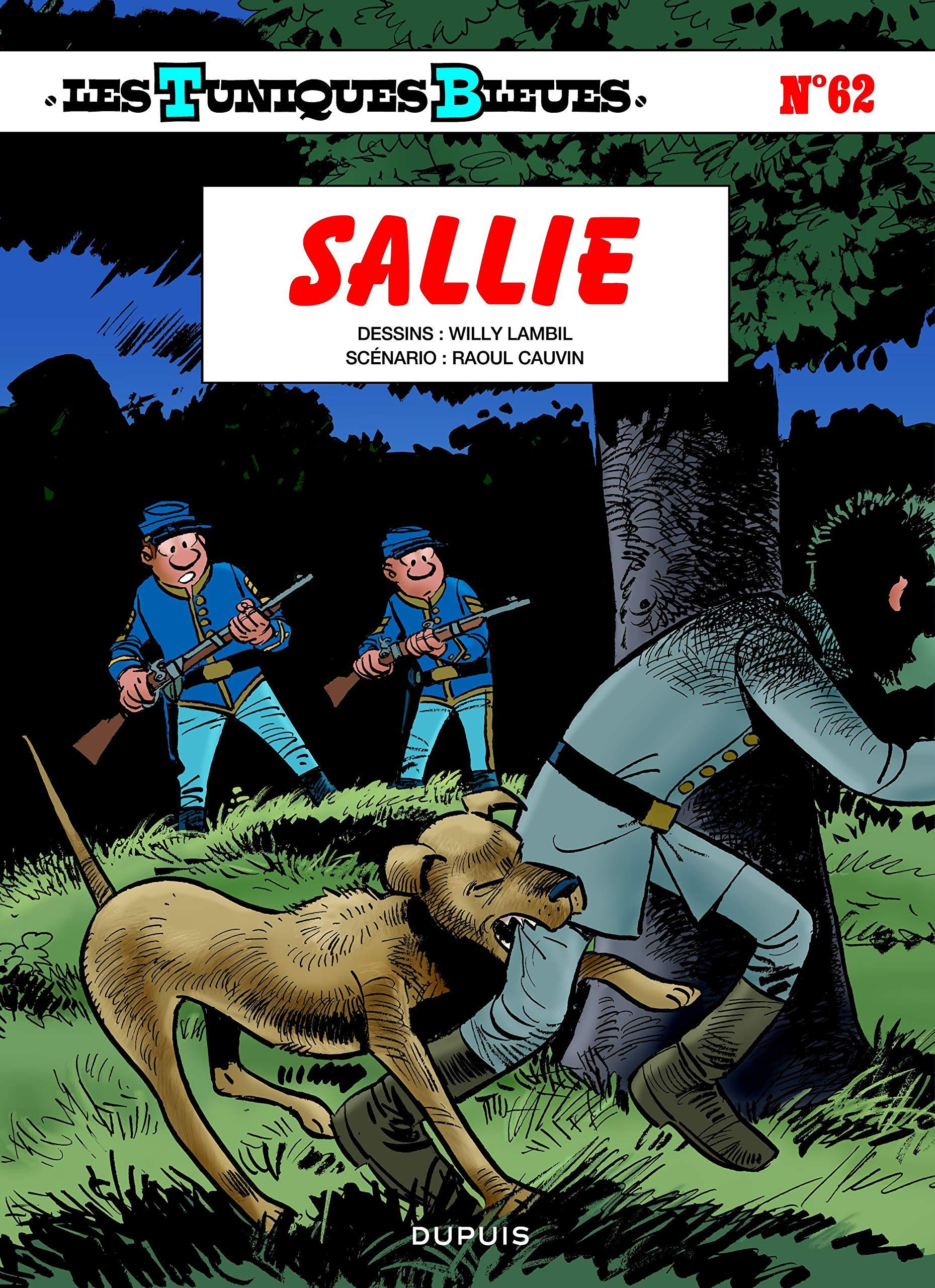 Les tuniques bleues 62 - Sallie