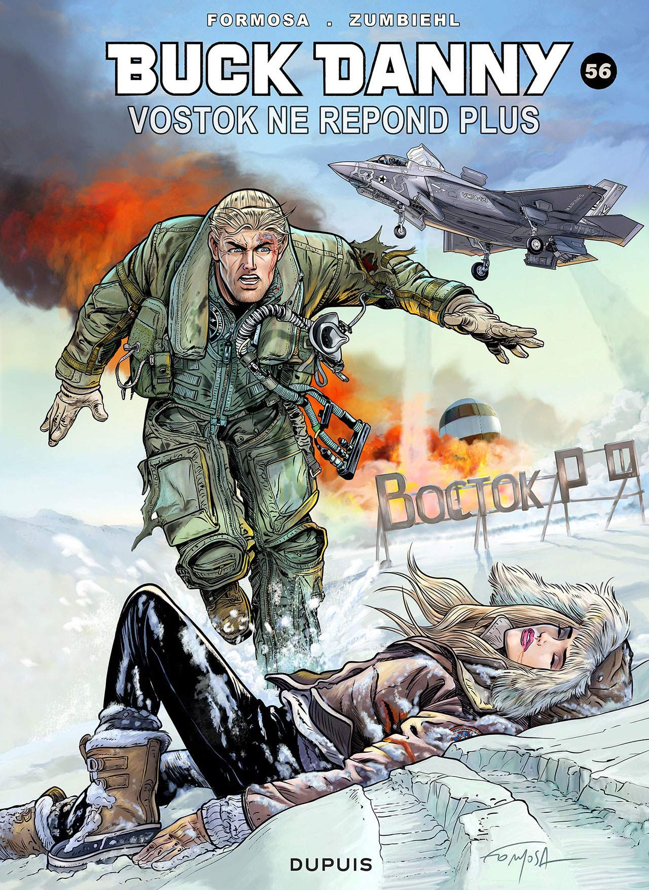 Buck Danny 56 - Vostok ne répond plus...