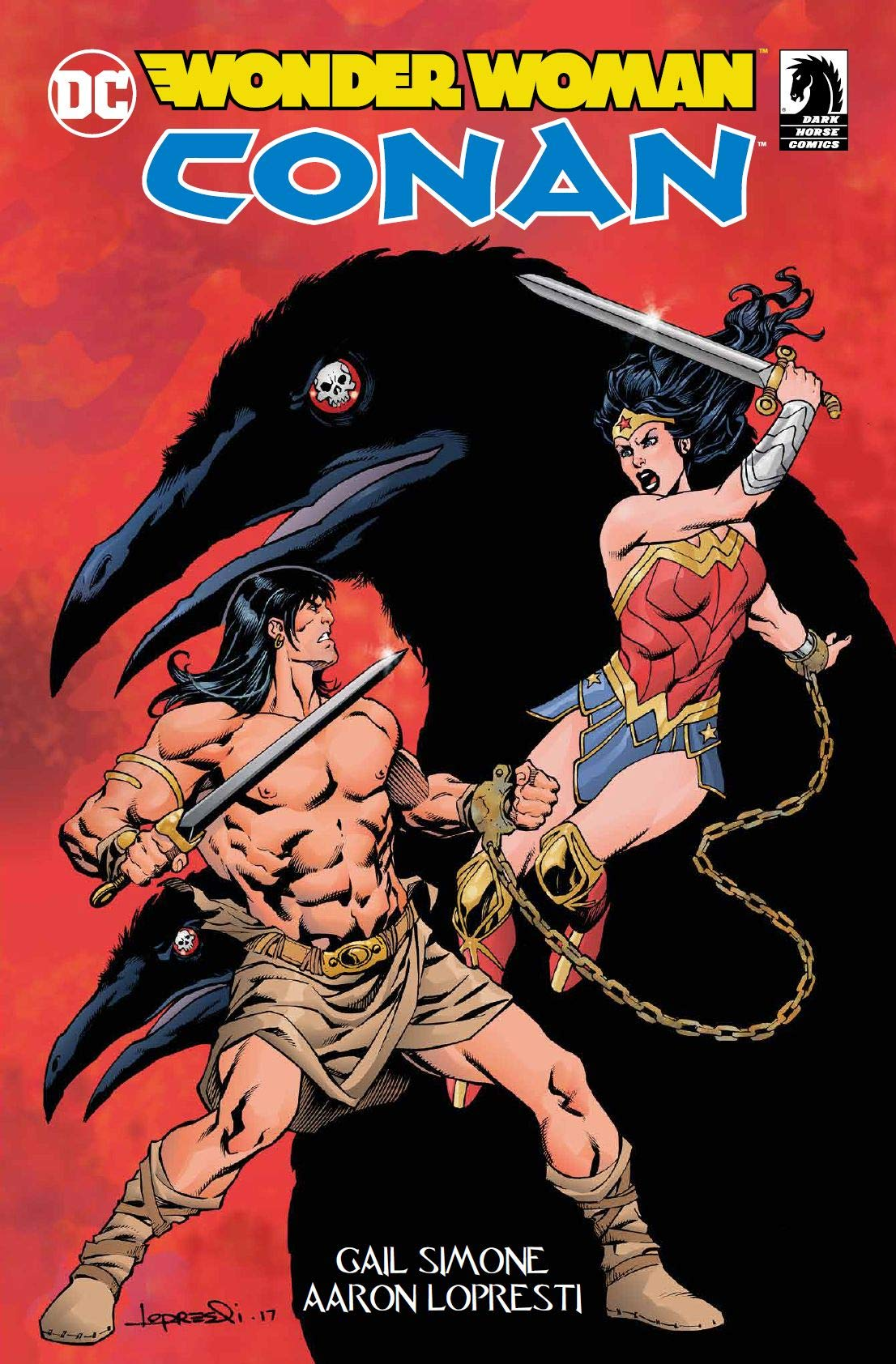 Wonder Woman / Conan 1