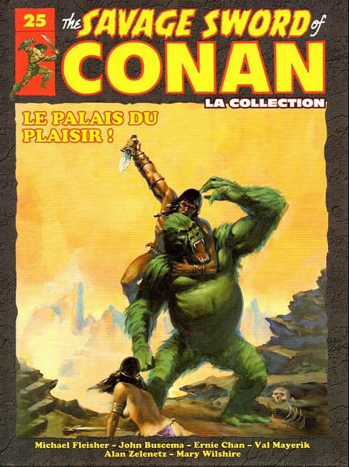 The Savage Sword of Conan 25 -  Le palais du plaisir !