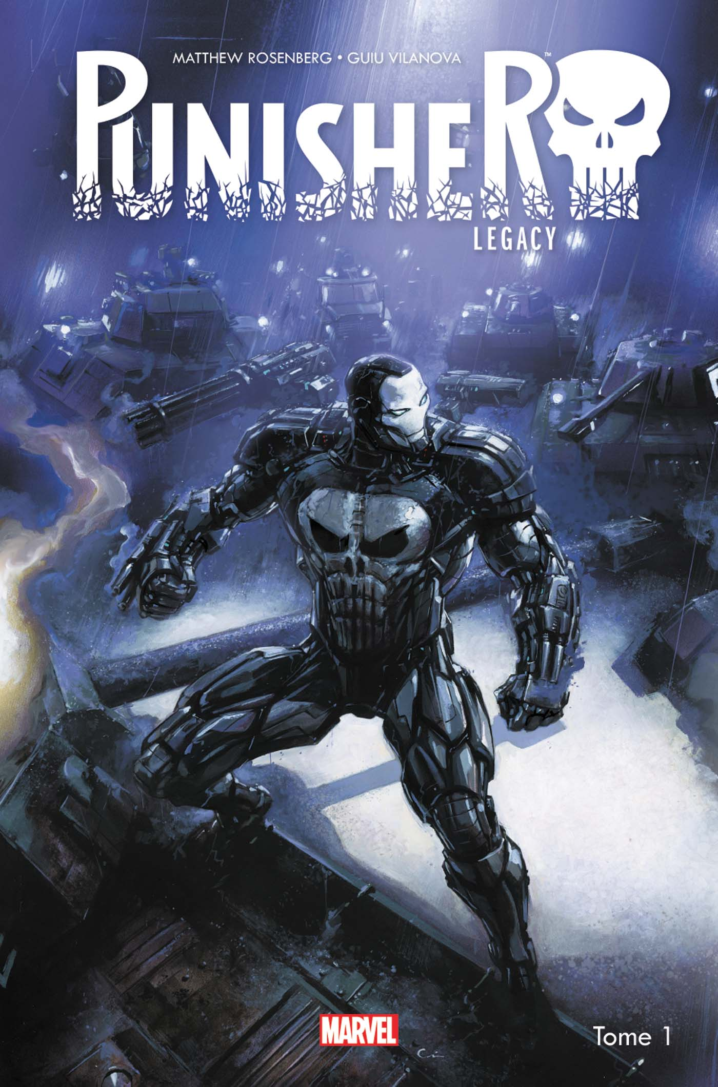 Punisher Legacy 1 - Tome 1