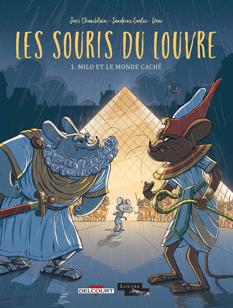 Les souris du Louvre 1 - Milo et le monde caché