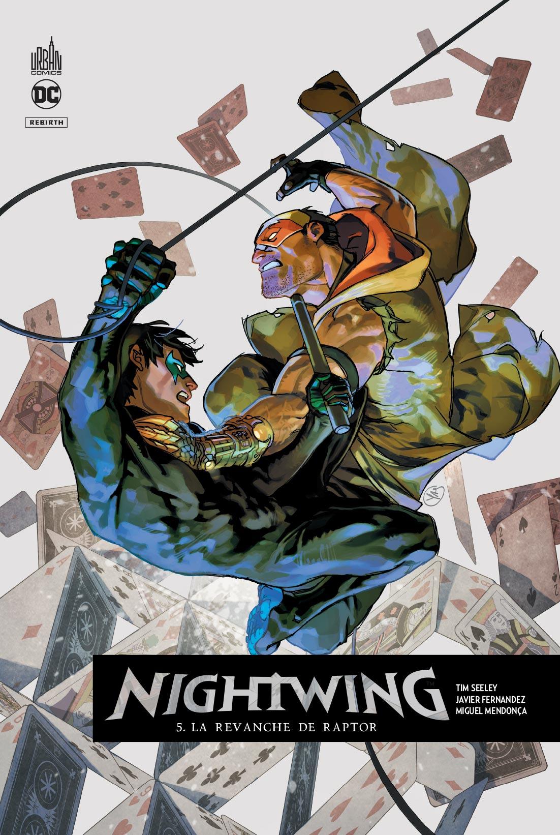 Nightwing Rebirth 5 - La revanche de Raptor
