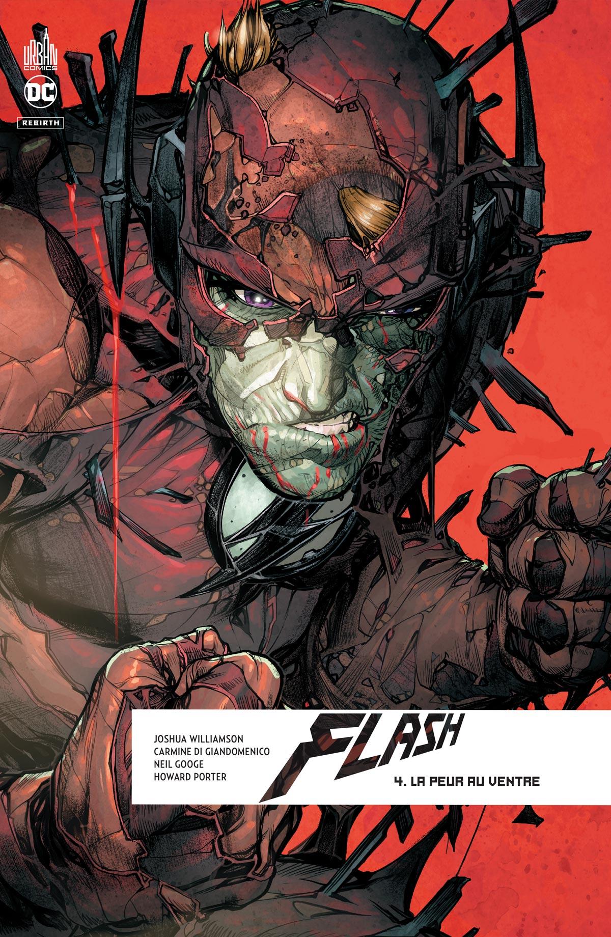 The Flash - Rebirth 4 - La peur au ventre