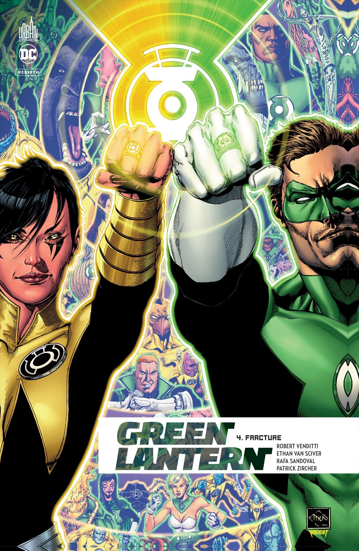 Green Lantern Rebirth 4 - Fracture