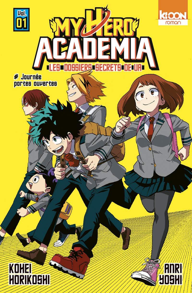 My hero academia - Les dossiers secrets de UA 1