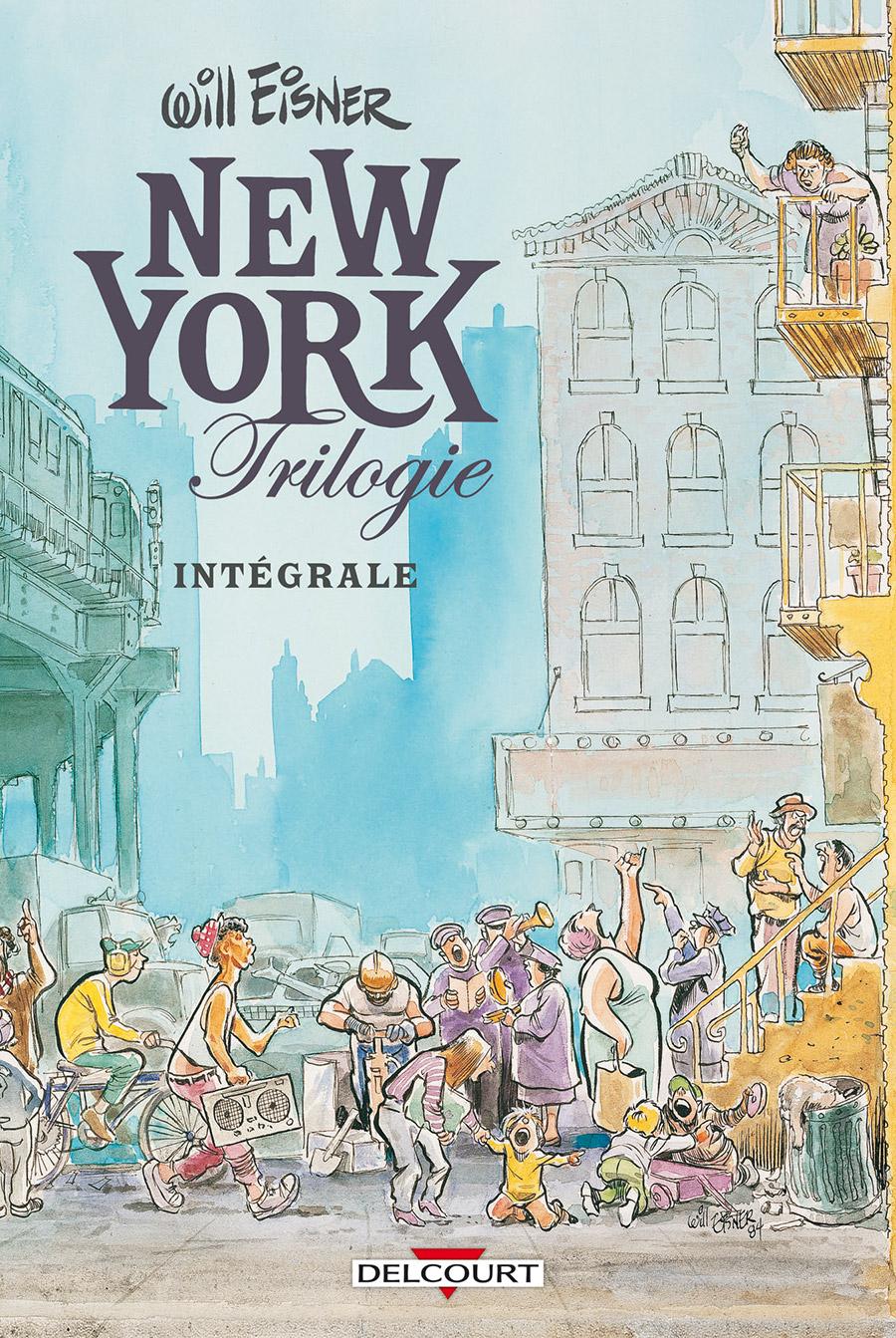 Will Eisner - New York Trilogie 1 - La Ville