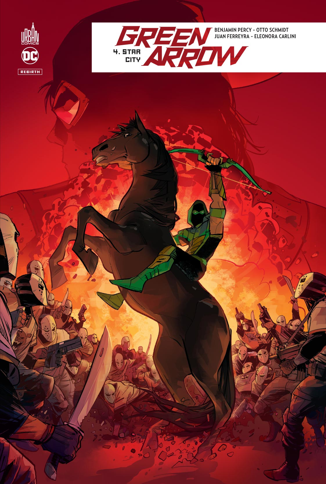 Green Arrow Rebirth 4 - Star City