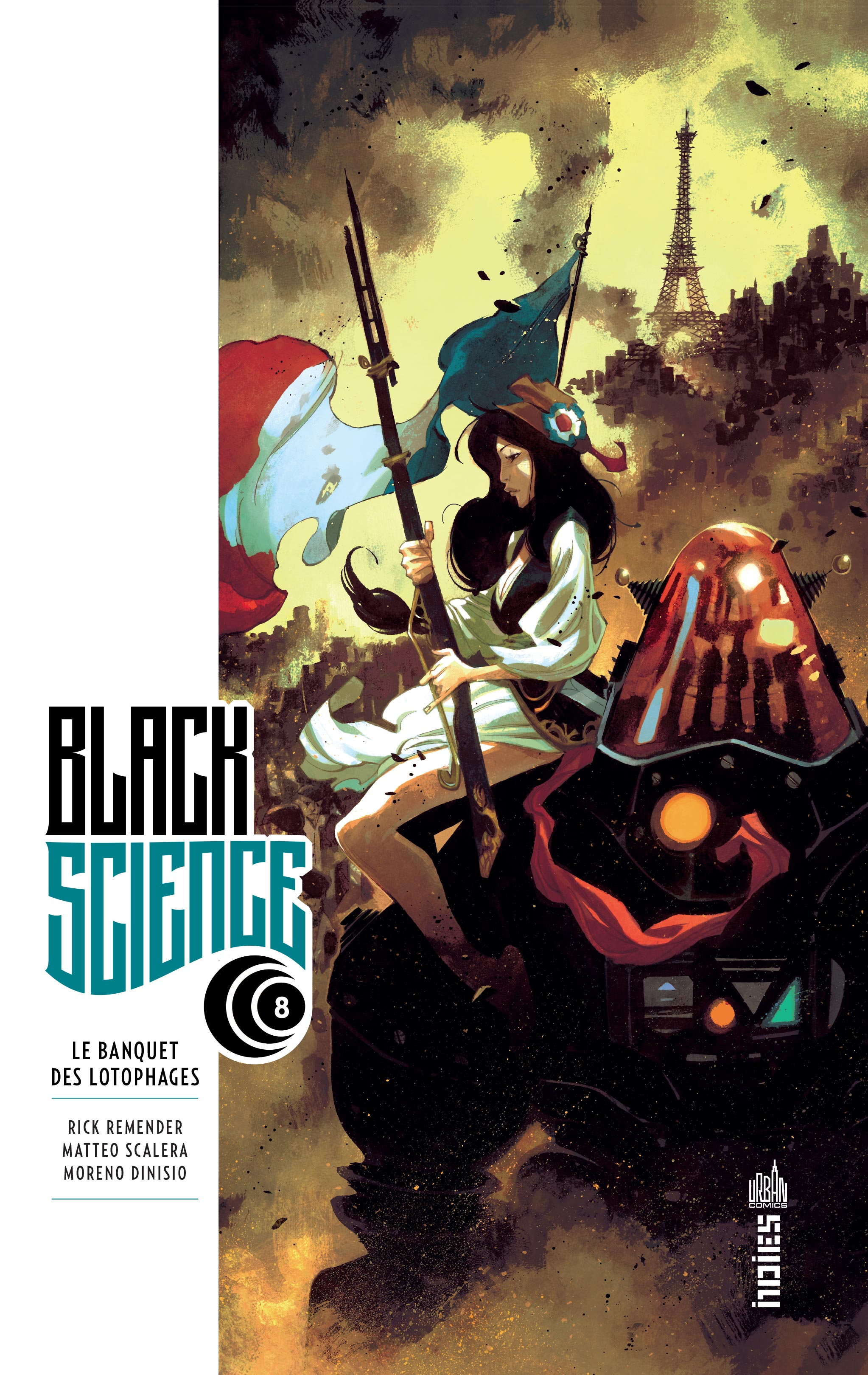 Black Science 8 - Le banquet des Lotophages