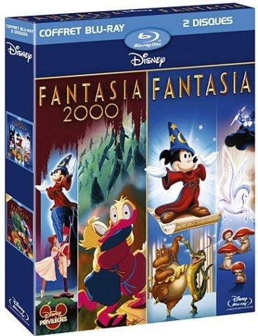 Fantasia + Fantasia 2000 - coffret 2 Blu-ray
