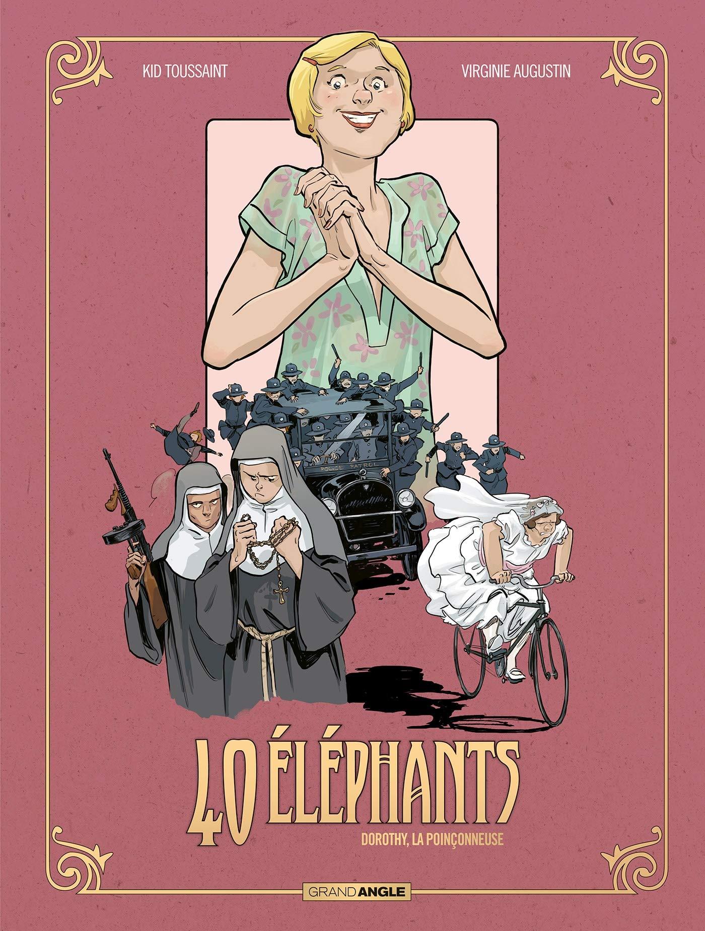 40 éléphants 3 - Dorothy, la poinçonneuse