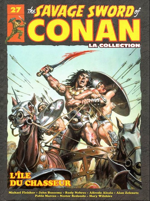 The Savage Sword of Conan 27 -  L'ile du chasseur