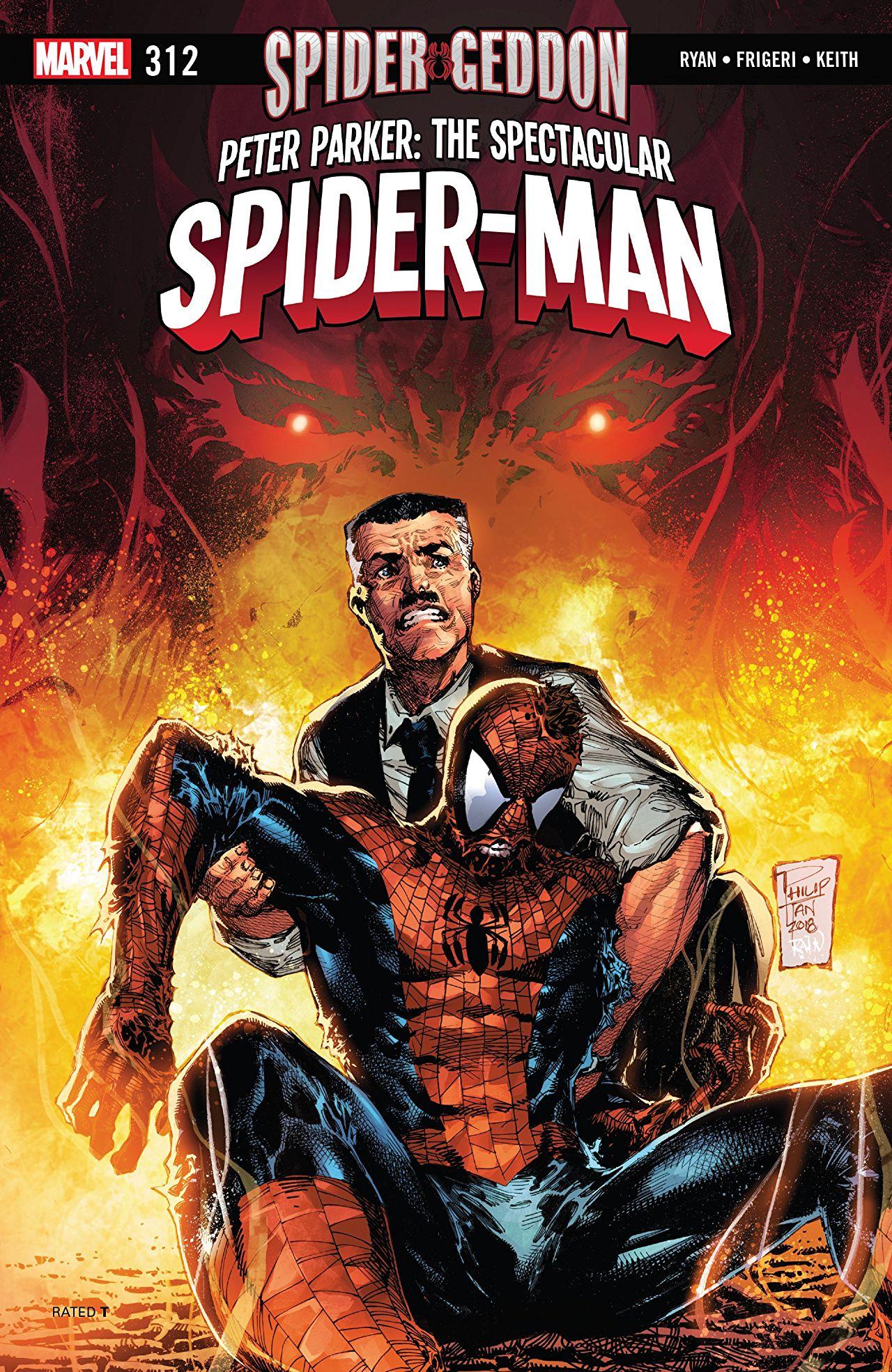 Peter Parker - The Spectacular Spider-Man 312
