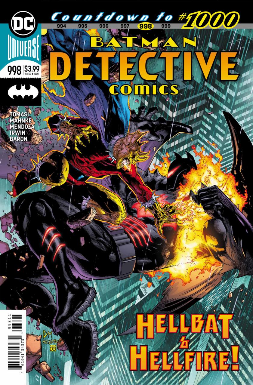 Batman - Detective Comics 998