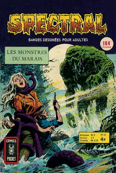 Spectral 10 - Les monstres du marais
