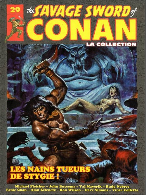 The Savage Sword of Conan 29 -  Les nains tueurs de stygie !